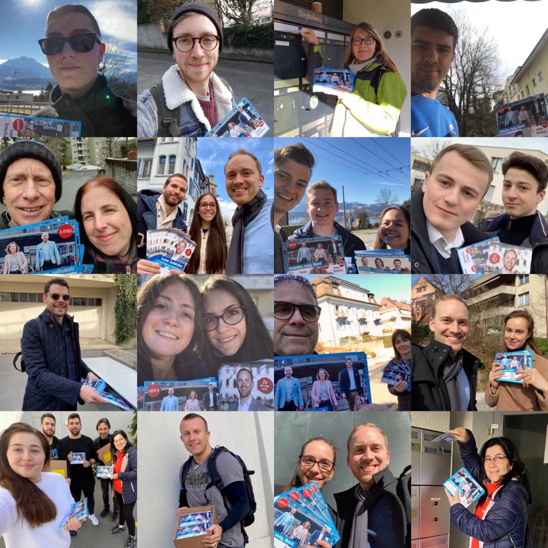 Über 15'000 Flyer sind bereits verteilt!