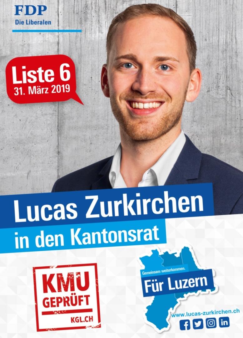 Flyer Lucas Zurkirchen