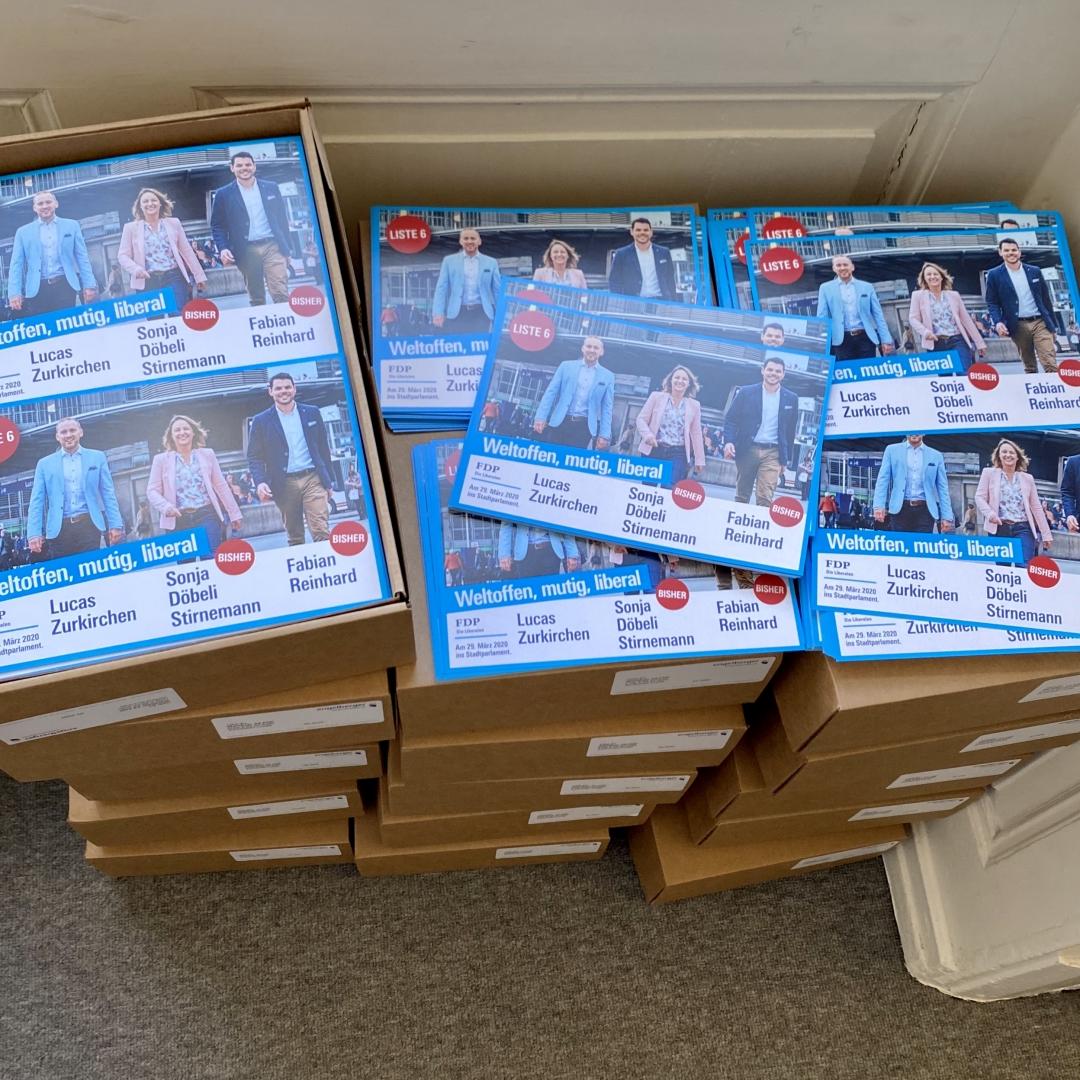 Die 20'000 Flyer sind da!