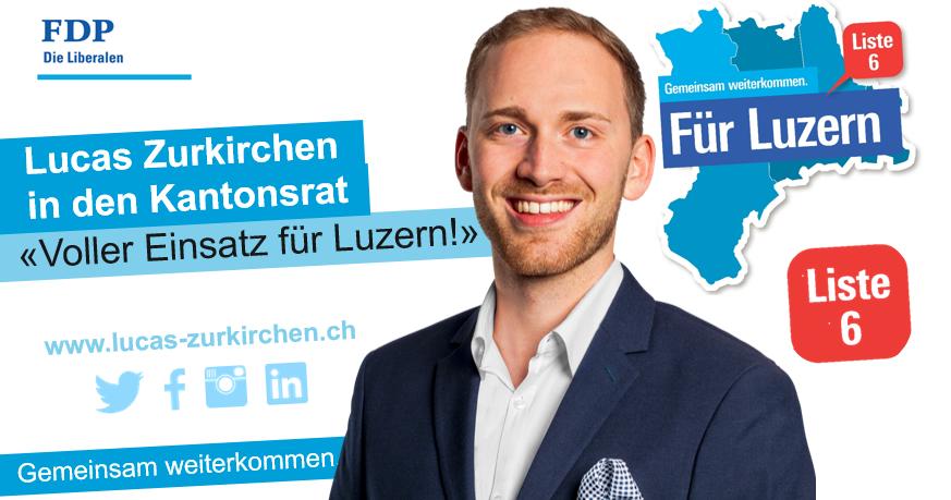 Voller Einsatz für Luzern!