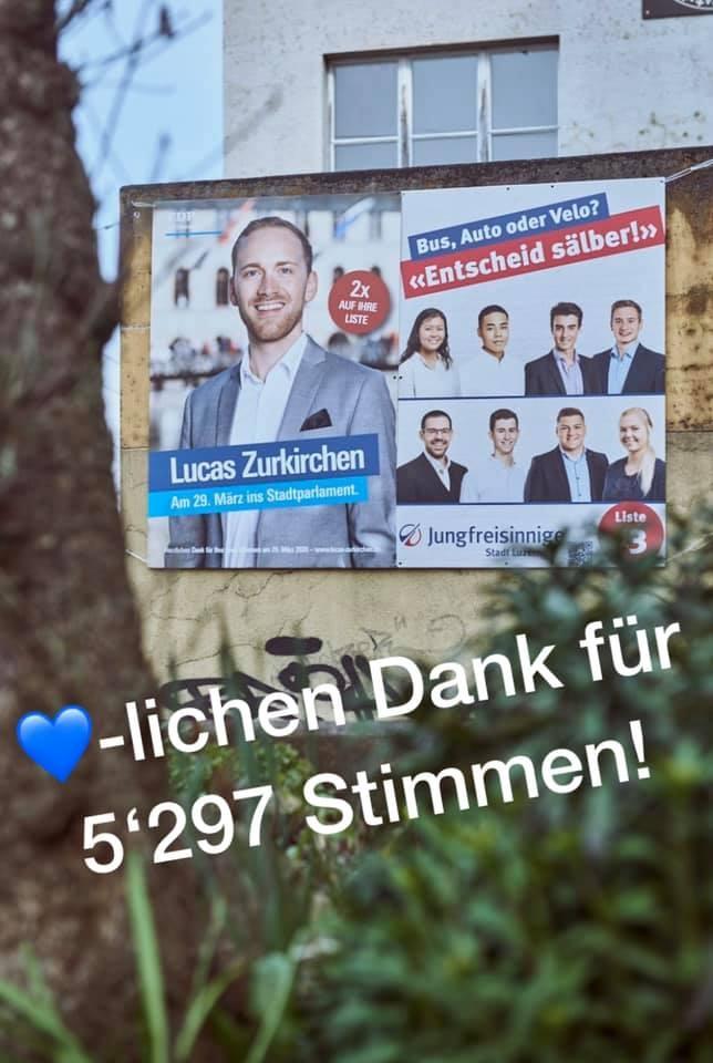 Herzlichen Dank für 5'297 Stimmen!