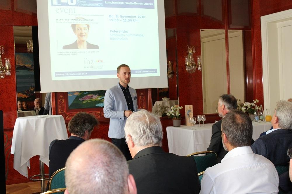 IFU, Info-Forum freies Unternehmertum